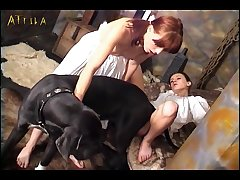 Two Young Whores A Dog Cock (part 3)
