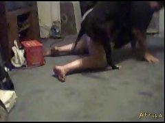 1594 Amateur Webcam Dog Girl Test Bluedog (part 4)