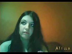 Webcam Cait Doggy Lick (part 3)