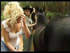 Bfi Adilia 3 Girls One Horse (part 4)
