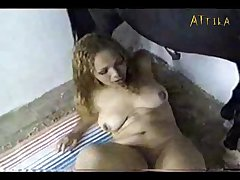 Bestiality Bizarre Kinky Animal Passion Sex With Animals Horse Fucks And Ejaculates On The Pussy And Mouth Of A Blonde Girl (part 3)