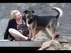 1 A Minx Gets Fucked By Her Dog, In Nature. (part 2)