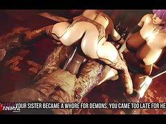 Kasumi,the Slave Of Hell Part 3 Hd (26regionsfm) Naughty Machinima 3